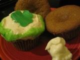 Shamrock Cupcakes for St. Patrick'sDay